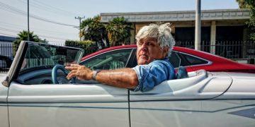 Jay Leno driving